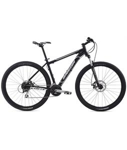 Breezer Storm Bike Gloss Black/Silver 17in (S)