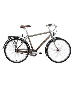 Breezer Uptown 3 Bike Graphite Grey/Mineral Brown 19.5in (M)