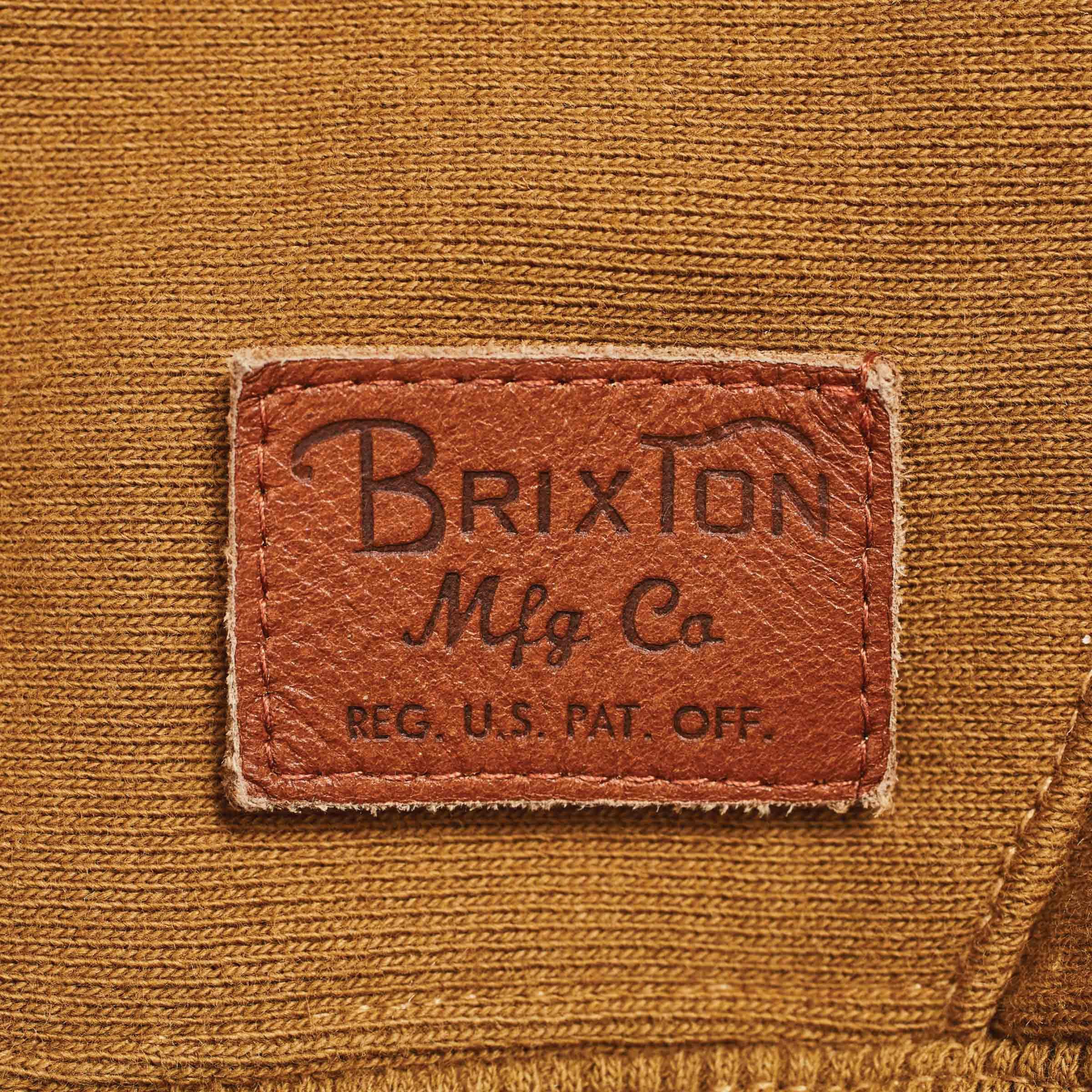 Brixton-Longman-Half-Zip-Hoodie-Mens thumbnail 4