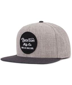 Brixton Wheeler Snapback Cap