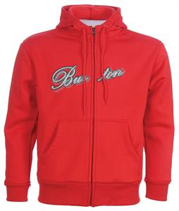 Burton Bonded Fleece Firecracker Red