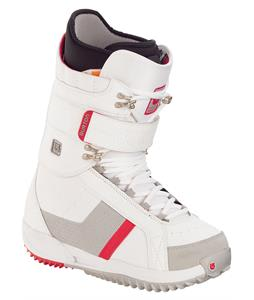 Burton Freestyle Snowboard Boots White/Red