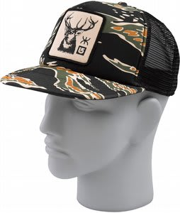 Burton 13 Gauge Cap Tiger Camo
