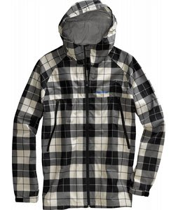 Burton 2.5L Slick Jacket True Black Revert Plaid