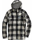 Burton 2.5L Slick Jacket True Black Revert Plaid - Men's