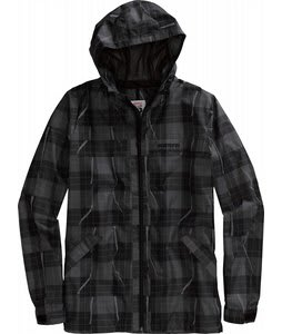 Burton 2L Anthem Jacket True Black Ripper Plaid