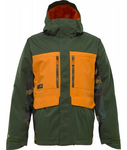 Burton 2L Gmp Hellbrook Snowboard Jacket Sherwood/Hunter/Sherwood Camo