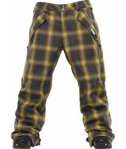 Burton 2L Goretex Grill Snowboard Pants Quarry Bobber Plaid