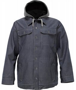 Burton 3L Hackett Snowboard Jacket Chambray