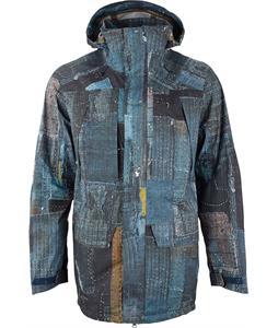 Burton 3L Prospect Snowboard Jacket Japanese Boro Print LTD