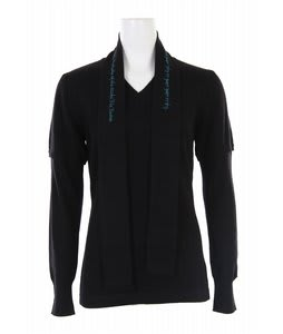 Burton Academy L/S V-Neck True Black