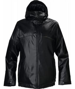 Burton Access Snowboard Jacket Black Pleather