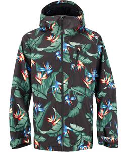 Burton AK 2L Cyclic Gore-Tex Snowboard Jacket Welcome To Paradise Print