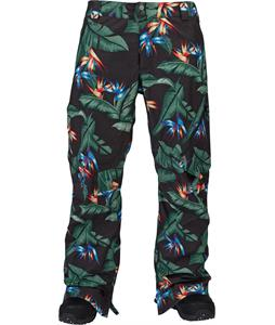Burton AK 2L Cyclic Gore-Tex Snowboard Pants Welcome To Paradise Print