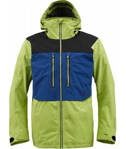 Burton AK 2L Stagger Snowboard Jacket Acid Colorblock