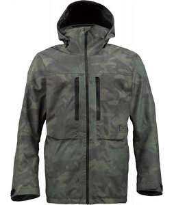 Burton AK 2L Stagger Snowboard Jacket Walter Camo