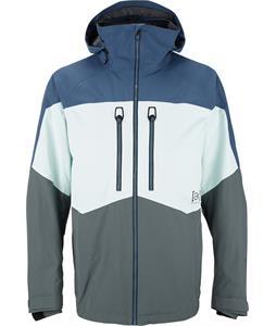 Burton AK 2L Swash Gore-Tex Snowboard Jacket Team Blue/Breezy/Bog Colorblock