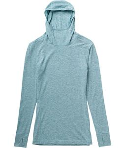 Burton AK Drirelease Wool Hood Baselayer Top Calypso Heather