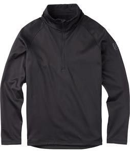 Burton AK Grid Half-Zip Fleece True Black