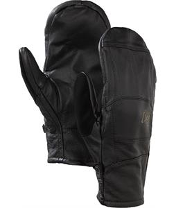 Burton AK Leather Tech Mittens True Black