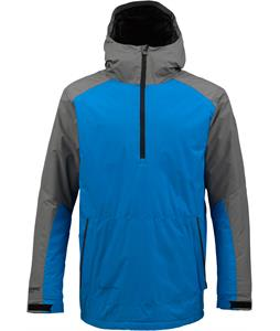 Burton AK Turbine Anorak Snowboard Jacket Monoxide/Bluebird