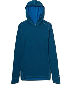 Burton AK Wool Hoodie Baselayer Top Tide
