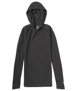 Burton AK Wool Hoodie Baselayer Top True Black