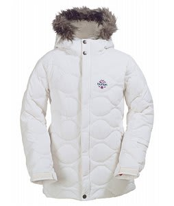 Burton Allure Puffy Snowboard Jacket Bright White