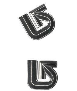 Burton Aluminum Logo Mats Stomp Pad Silver