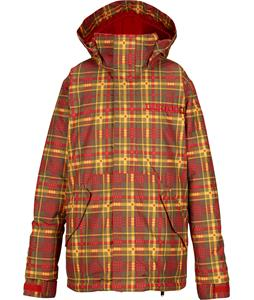 Burton Amped Snowboard Jacket Fang Mason Plaid