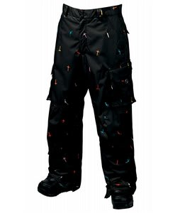 Burton Andy Warhol Cargo Snowboard Pants Aw Icon Print
