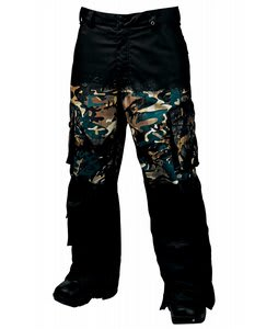 Burton Andy Warhol Cargo Snowboard Pants Last Supper Camo