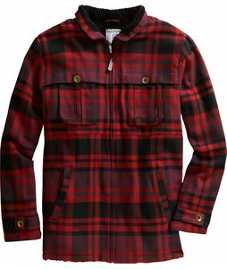 Burton Angler Jacket Heather Crimson