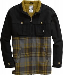 Burton Angler Jacket Heather True Black