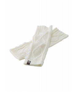 Burton Annie Bell Arm Warmers Bright White