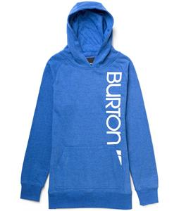 Burton Antidote Pullover Hoodie Heather Cobalt Blue