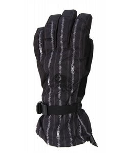 Burton Approach Gloves Zip It Black