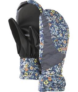 Burton Approach Under Mittens Confetti Floral Denim