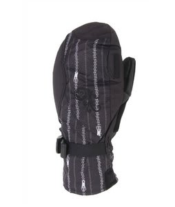 Burton Approach Under Mittens True Black Zip
