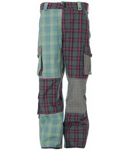 Burton Apres Snowboard Pants Mash Up Apres Plaid