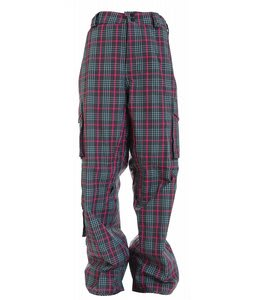 Burton Apres Snowboard Pants Sky Apres Plaid