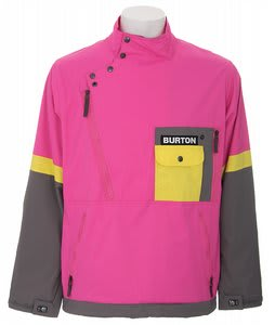 Burton Archive FS Shell Snowboard Jacket Totally Pink