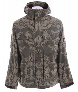Burton Arctic Snowboard Jacket Mosaic Hazel