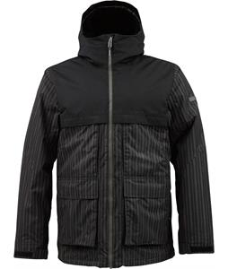 Burton Arctic Snowboard Jacket Keef Distripe Print/True Black