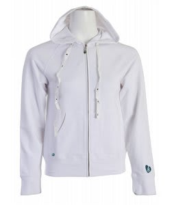 Burton Armstrong Fullzip Hoodie White