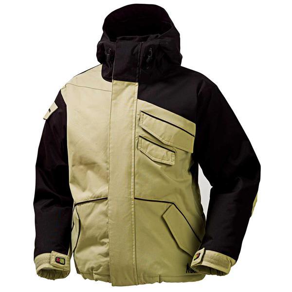 Burton The White Collection Asym Snowboard Jacket