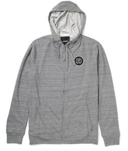 Burton Avenue Full-Zip Hoodie Heather Pewter