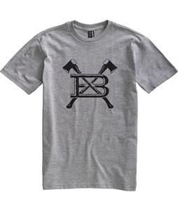 Burton Axed T-Shirt Heather Grey