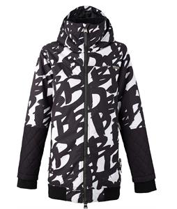 Burton B By Sydney Snowboard Jacket Graffiti Pop Print
