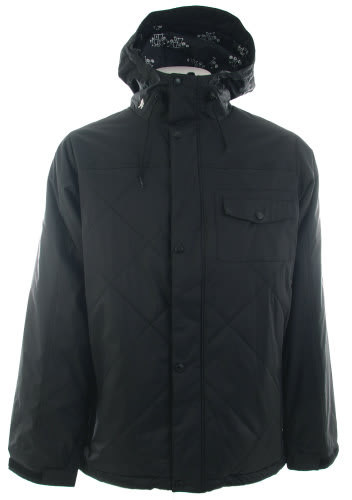 Burton Bad Moon Rising Snowboard Jacket True Black